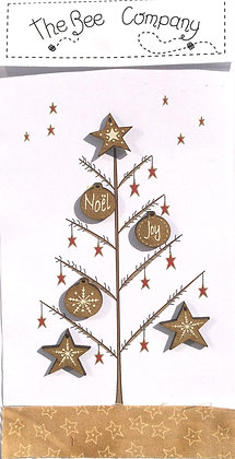 Joy and Noel buttons by The Bee Company TBN18