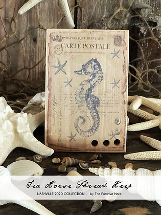 NASH-STASH Seahorse Thread Keep by The Primitive Hare