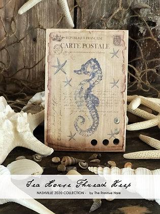 NASH-STASH Seahorse Thread Keep by The Primitive Hare