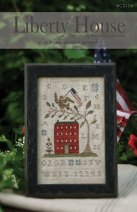 Liberty House CHART by With Thy Needle & Thread