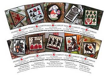 Mini Card Set E by The Prairie Schooler
