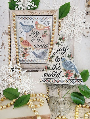 Fourth Day of Christmas Sampler Tree by Hello from Liz Mathews