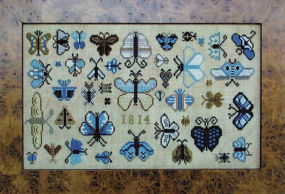 1814 Butterfly Collection by Carriage House Samplings