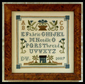 CATS Necessities Sampler by Little House Needleworks