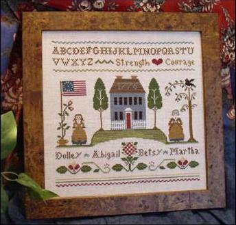 Colonial Women by Little House Needleworks