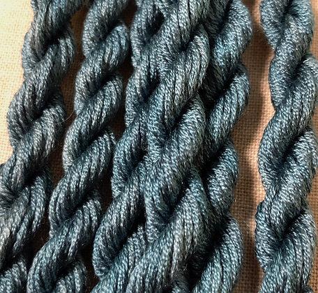 Slate Blue Gloriana 12-Strand Silk 6 Yards