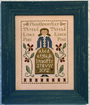 The Sampler Lady by Little House Needleworks