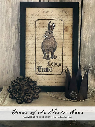 NASH-STASH Spirits of the Woods: Hare by The Primitive Hare