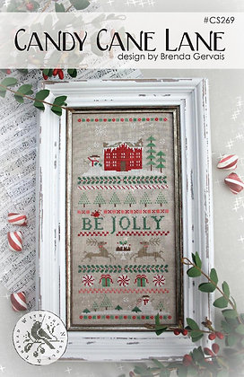 Candy Cane Lane by With Thy Needle & Thread