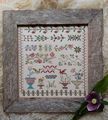 Manon's Garden by Mojo Stitches
