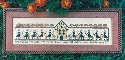 Ten Virgins by Carriage House Samplings