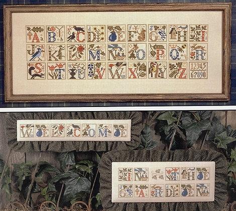 Garden Alphabet by The Prairie Schooler