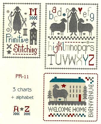 Primitive ABC by Marjorie Massey PR11