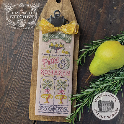 Poire et Romarin: The French Kitchen by Summer House Stitche Workes