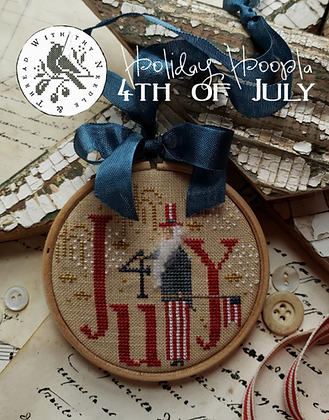 *Holiday Hooplas: 4th of July by With Thy Needle & Thread