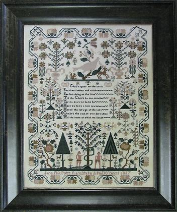 Jane Philpott 1837 by Shakespeare's Peddler
