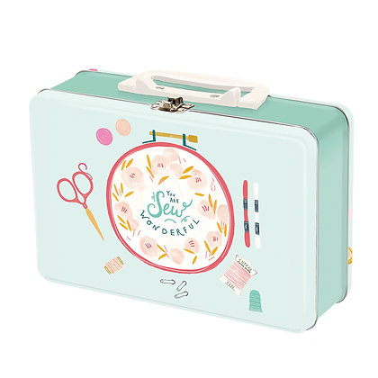 Sew Wonderful Snackbox Tin by Paper & Cloth (Moda)
