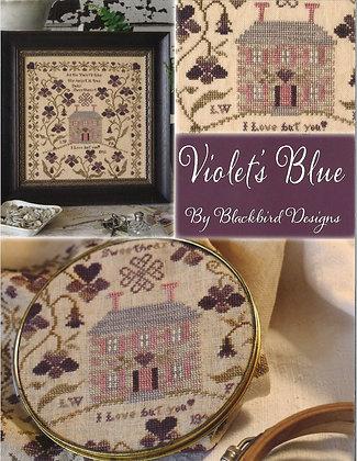 Violet's Blue by Blackbird Designs