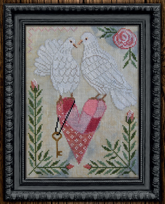 Love is in the Air by Cottage Garden Samplings