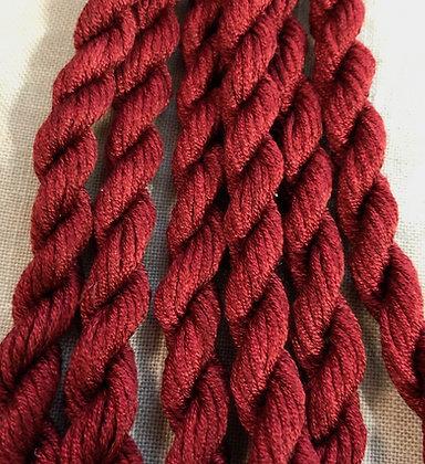 Bellagio Red Gloriana 12-Strand Silk 6 Yards