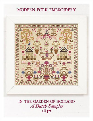 In the Garden of Holland by Modern Folk Embroidery