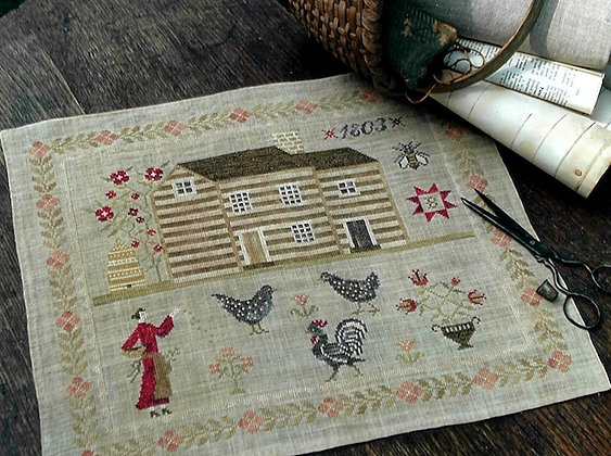 Miss Baxter's House by Stacy Nash Primitives