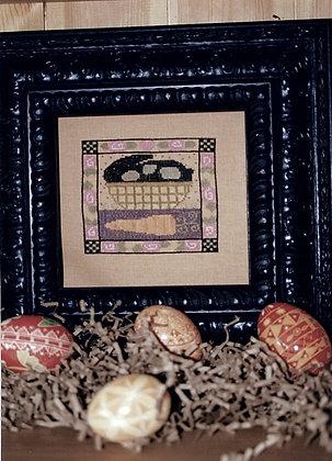 *Bunny in a Basket by Ewe & Eye & Friends