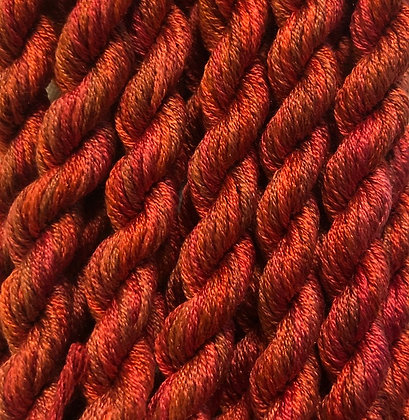 Cinnamon 6-yards, 12-stranded Silk Floss by Gloriana