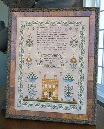 Mary Ann Crumley 1829 by Samplers Not Forgotten