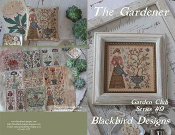 CATS The Gardener by Blackbird Designs
