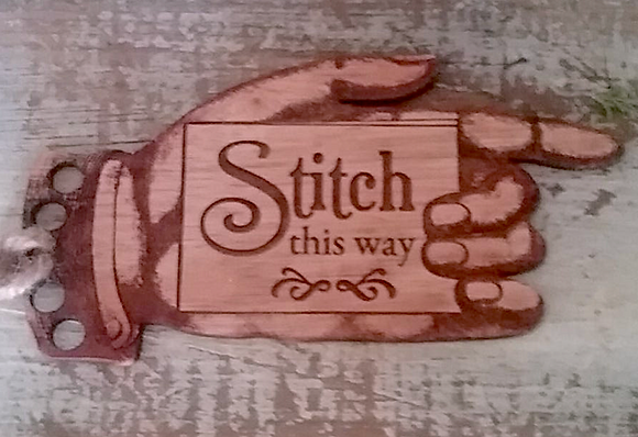 Stitch This Way Thread Keep by Retromantic Fripperies