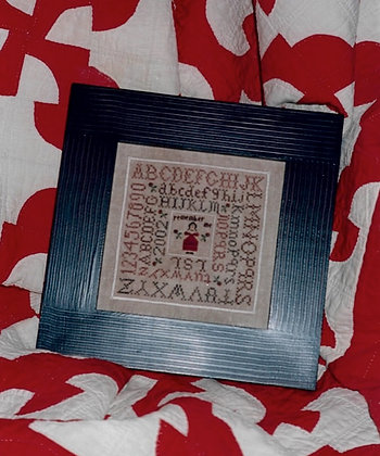 *Alphabet Sampler by Chessie & Me