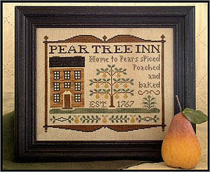 CATS Pear Tree Inn by Little House Needleworks