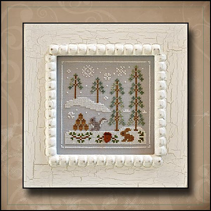 Frosty Forest:Snowy Friends by Country Cottage Needleworks
