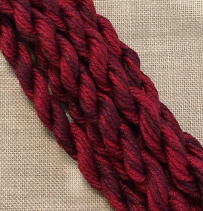 Cranberry Gloriana 12-Strand Silk 6 Yards