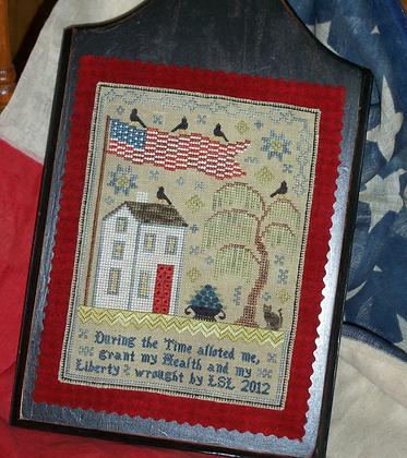 Grande Olde Flag Sampler by Chessie & Me