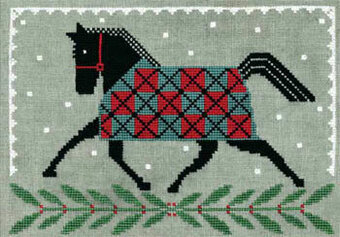 CATS Horse Country Holiday by Artful Offerings