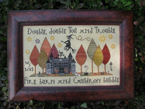*Toil & Trouble by Plum Street Samplers
