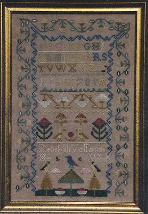 Rebekah Volintine Circa 1740 by Bittersweet House