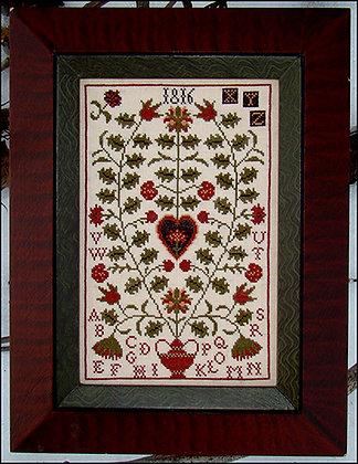 Scarlet Berries by Carriage House Samplings