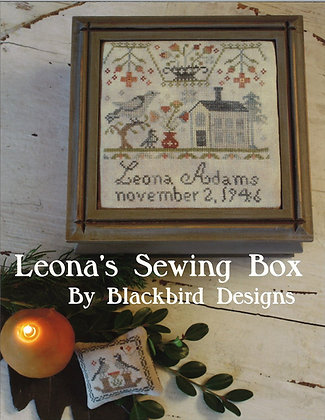 Leona's Sewing Box by Blackbird Designs