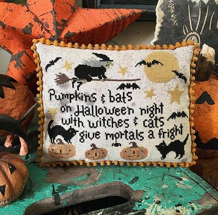 Pumpkins & Bats by Teresa Kogut