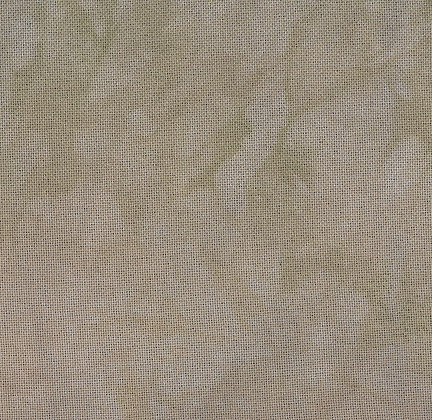 28 Count Cocoa Lugana Fat Quarter by Fiber on a Whim