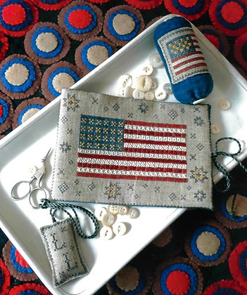Flag of Glory Needle Book by Chessie & Me