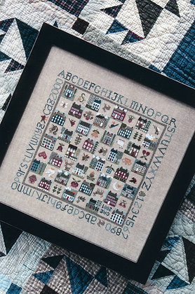 Sampler Game Board by The Drawn Thread