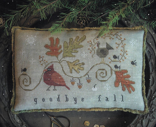 Goodbye Fall by Plum Street Samplers