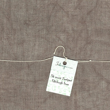40 Count Old Linen Fat Quarter Hand-Dyed Linen by xJudesign