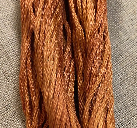 Colonial Copper Classic Colorworks Cotton Threads 5-yard Skein