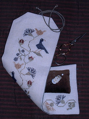 *Flower & Bird Sewing Roll by Chessie & Me