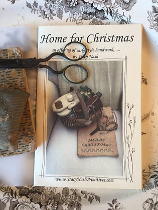 Home for Christmas Booklet by Stacy Nash Primitives